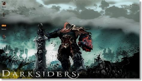 windows 8 themes video games windows 7 themes darksiders game theme for windows