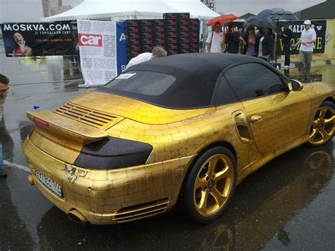 Gold Plated Cars For Sale 10 luxurious gold plated cars weirdlyodd