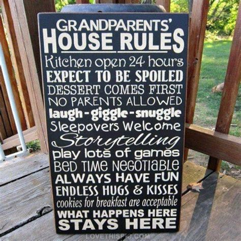 grandparents house rules grandparents house rules pictures photos and images for facebook tumblr pinterest