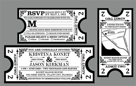 concert invitation card template jalissa s vintage 1920 39s antique deco