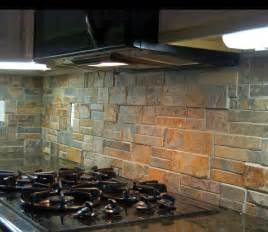 rustic kitchen backsplash ideas rustic kitchen back splash using quot terracotta quot stack ledge