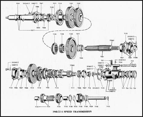 transmission parts diagram ford tractor transmission parts for sale