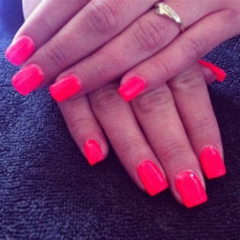 ongle en gel couleur corail nails flash corail ongles en gel bruxelles