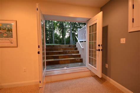 basement walkout basement walk out and egress windows ideas basement finishing and basemen remodeling ideas