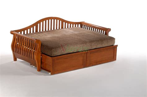 Futon Day Bed by And Day Nightfall Daybed Shop Trundle Daybed Xiorex