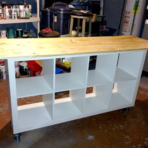 ikea table diy ikea hack diy work table using ikea bookcase astral riles