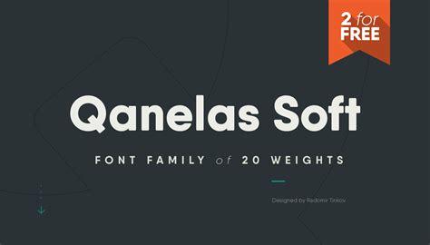 qanelas soft   font weights befontscom