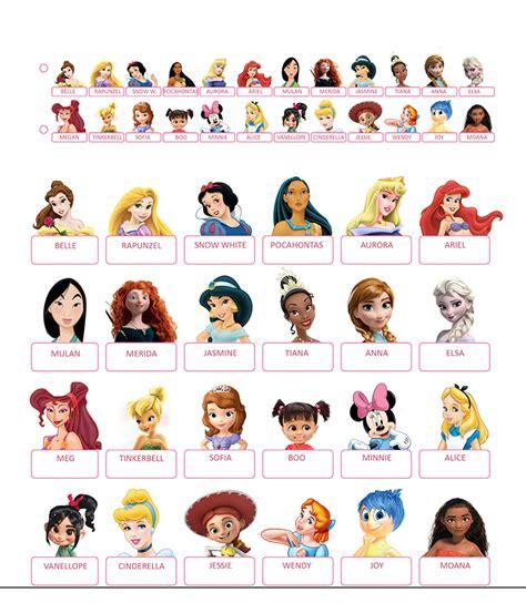 Guess Who Cards Template by Qui Est Ce 224 Imprimer Princesses Disney Et Jeux Vid 233 Os