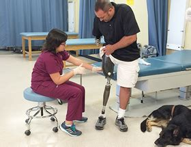 Prosthetist Education by Career Skills And Education Prosthetics Ganter Chapman