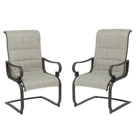 martha stewart living lyndon view c spring rocker patio dining chair 2 pack discontinued dybcr