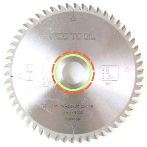 Circular Saw Blade For Laminate Countertop by Festool 489458 Saw Blade For Laminate Or Solid Surfaces 54t Hardware Building Materials