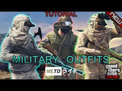 *new* top 3 smuggler's run military outfits | 1.41 | gta