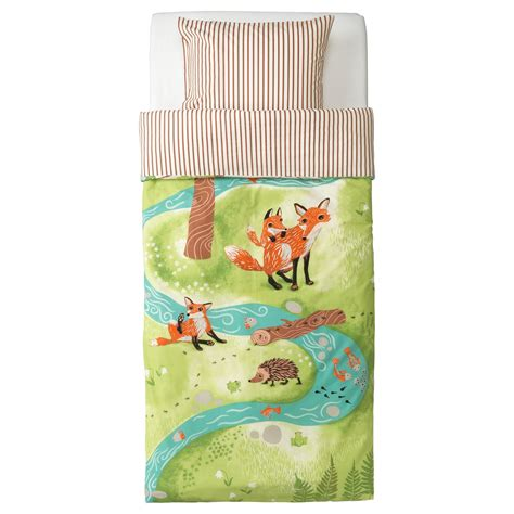 fox  hedgehog bedding ikea childrens curtains boys bedding sets duvet covers