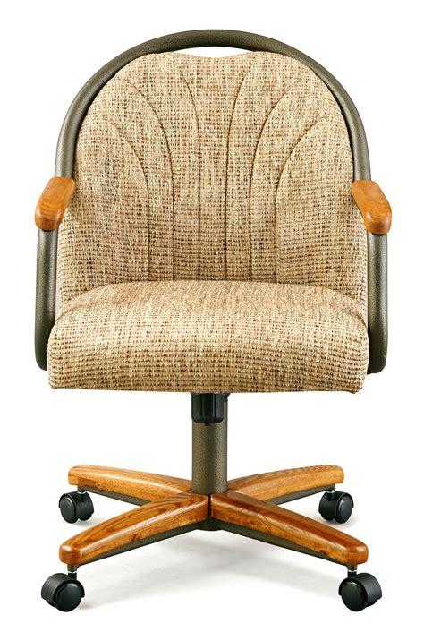 chromcraft chairs chromcraft c188 855 swivel tilt caster arms chair
