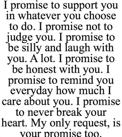 images of love promises yea i wish guys could make promises like this the