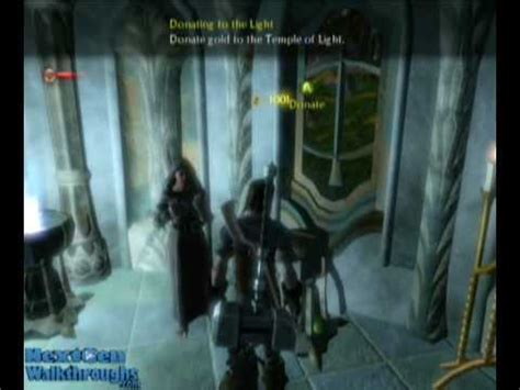 fable 2 donating to the light fable 2 quest donate to the temple of light