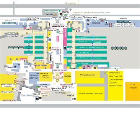 Tokyo Station Floor Plan kikuko s website nagoya station map of meeting spots