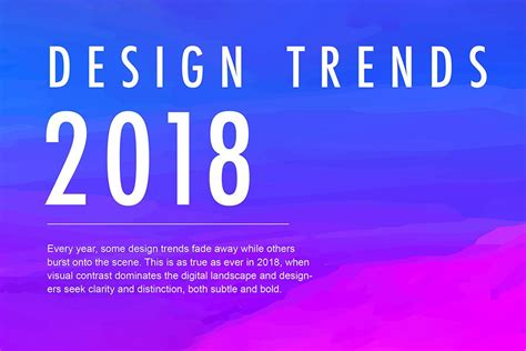 typography trends 2018 infographic designing for in 2018
