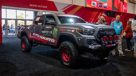 Toyota Tacoma Cing Sema Show 2016 Toyota Tacoma Trd Pro Race Truck Rudeza