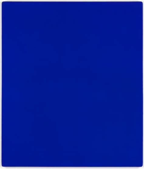 Yves Klein Blue by Ikb 79 Yves Klein Tate