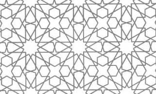 Islamic Wall Murals mathrecreation islamic geometric patterns of eric broug
