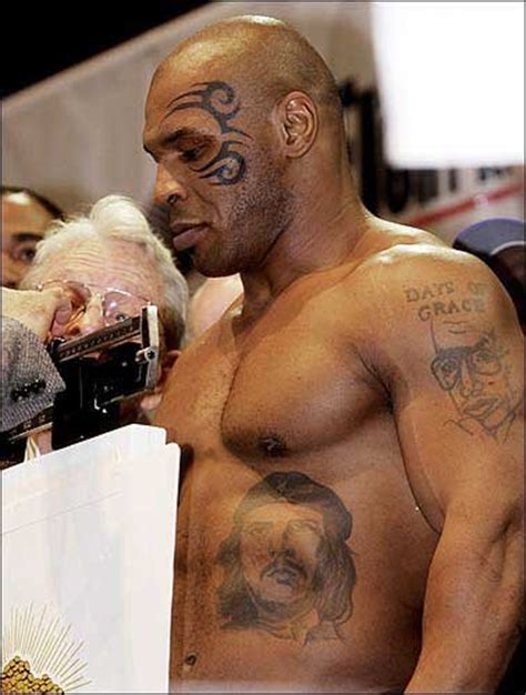 mike tyson tattoos photos for february 21 2003 ljworld