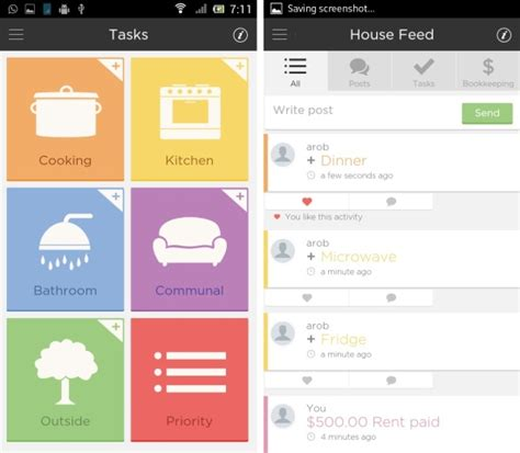 tasks android app android app for roommates to split tasks and expenses fairshare