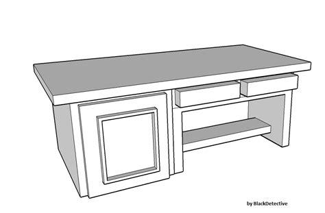 Google Email Help Desk My Desk Sketch By Blackdetective On Deviantart