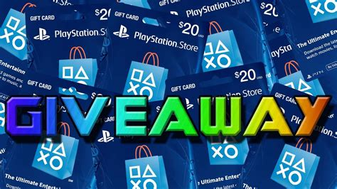 Playstation Giveaway - psn giftcard giveaway 20 playstation giftcard giveaway