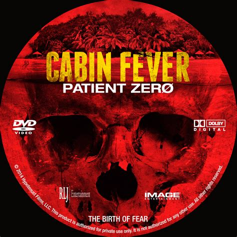cabin fever patient zero dvd cover 2014 r0 custom
