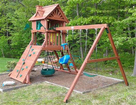 backyard discovery sonora cedar wood swing set backyard discovery sonora cedar wood set 28 images