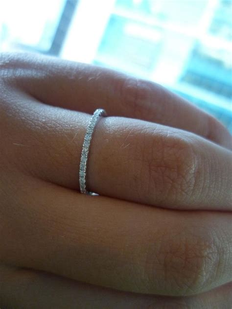 17 best ideas about thin wedding bands on gold