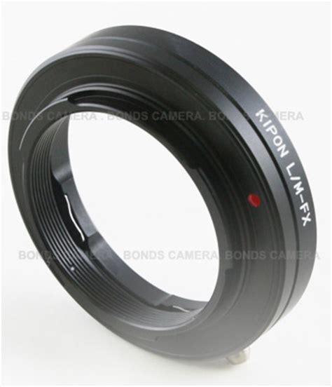 kipon leica m mount lens adapter for fuji x pro1 now