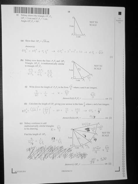 CIE IGCSE 0580 Mathematics Paper 4 (Extended), May/June