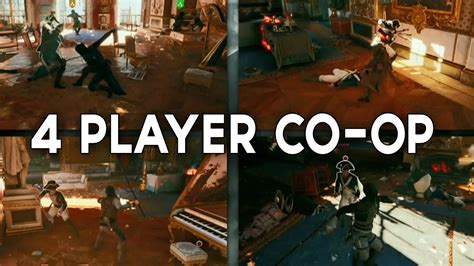 unity tutorial co op assassins creed unity 4 player co op youtube
