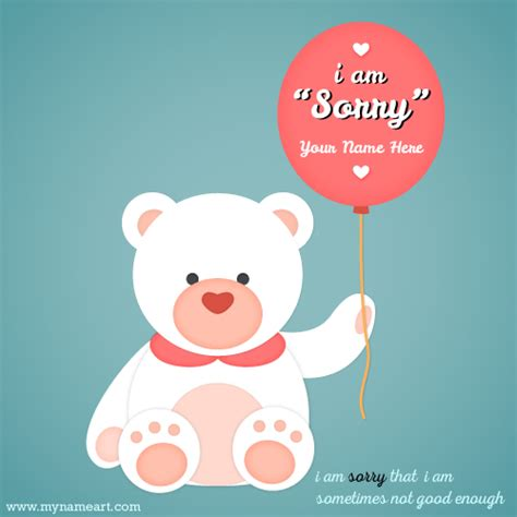 sorry day i am single quotes to say sorry to your with name