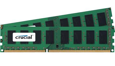 Ram Ddr3 crucial 16gb kit 2x 8gb ddr3 1600 mhz pc3 12800 non ecc