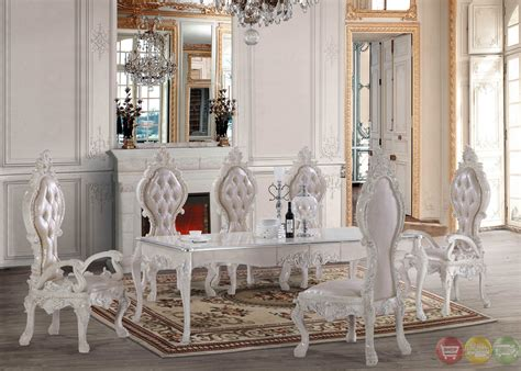 White Formal Dining Room Sets Free Shipping All Homey Design Dining Sets Victorian
