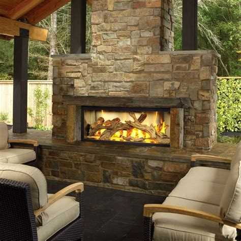 Exterior Gas Fireplace by 25 Best Ideas About Outdoor Gas Fireplace On