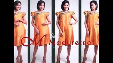 desain dress batik maduretno dress batik tulis madura cantik batik maduretno youtube