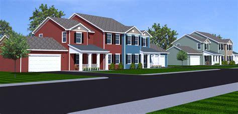 Duplex Housing housing development