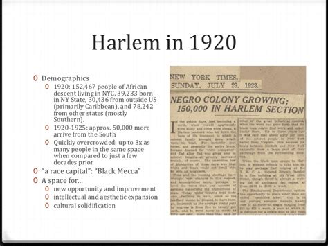 Harlem Renaissance Essay by Harlem Renaissance Essay