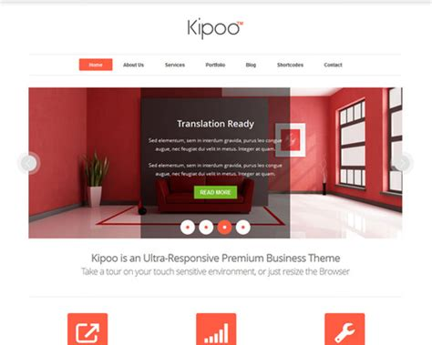 kipoo elegant wordpress template themeshaker com