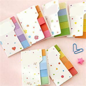 N Notes Pronto Color 2015 rainbow colored sticky notes n times bookmark scrapbooking sticker paper students