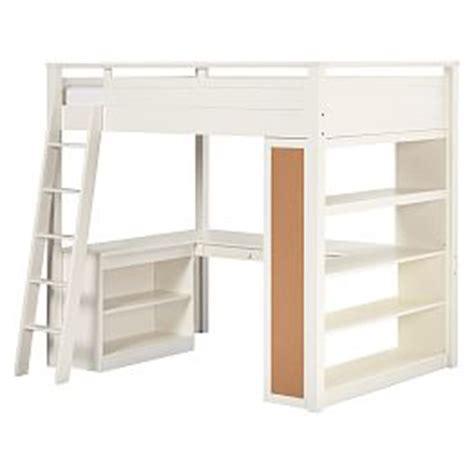 beadboard loft bed loft beds bunk beds loft beds pbteen