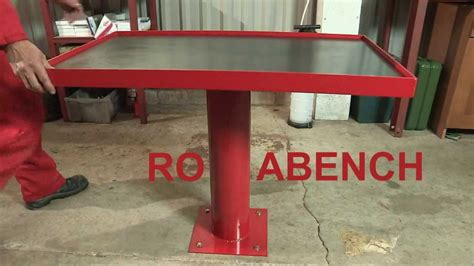 rotating work bench rotabench promo video rotating work bench with 360 degree access youtube