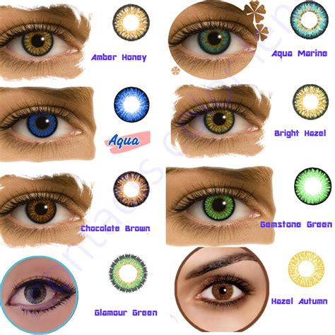 color contact lens yearly unsing top quality sale color contact