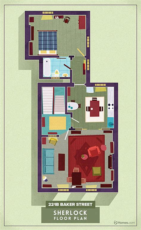 tv houses floor plans home floor plans of famous tv shows fubiz media