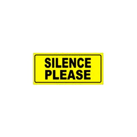 silence sign clipart best