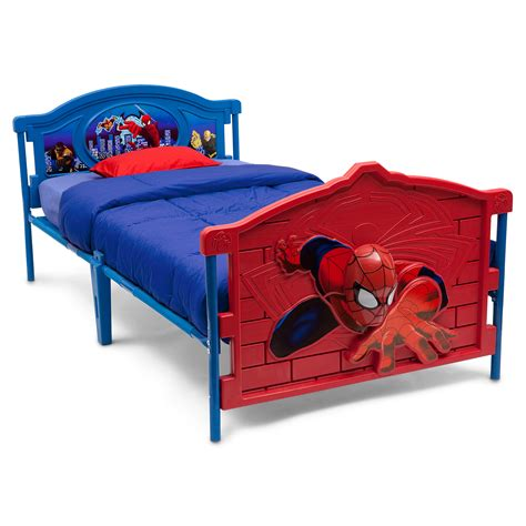 spiderman in bed bonus blanket with marvel spiderman 4pc toddler bedding